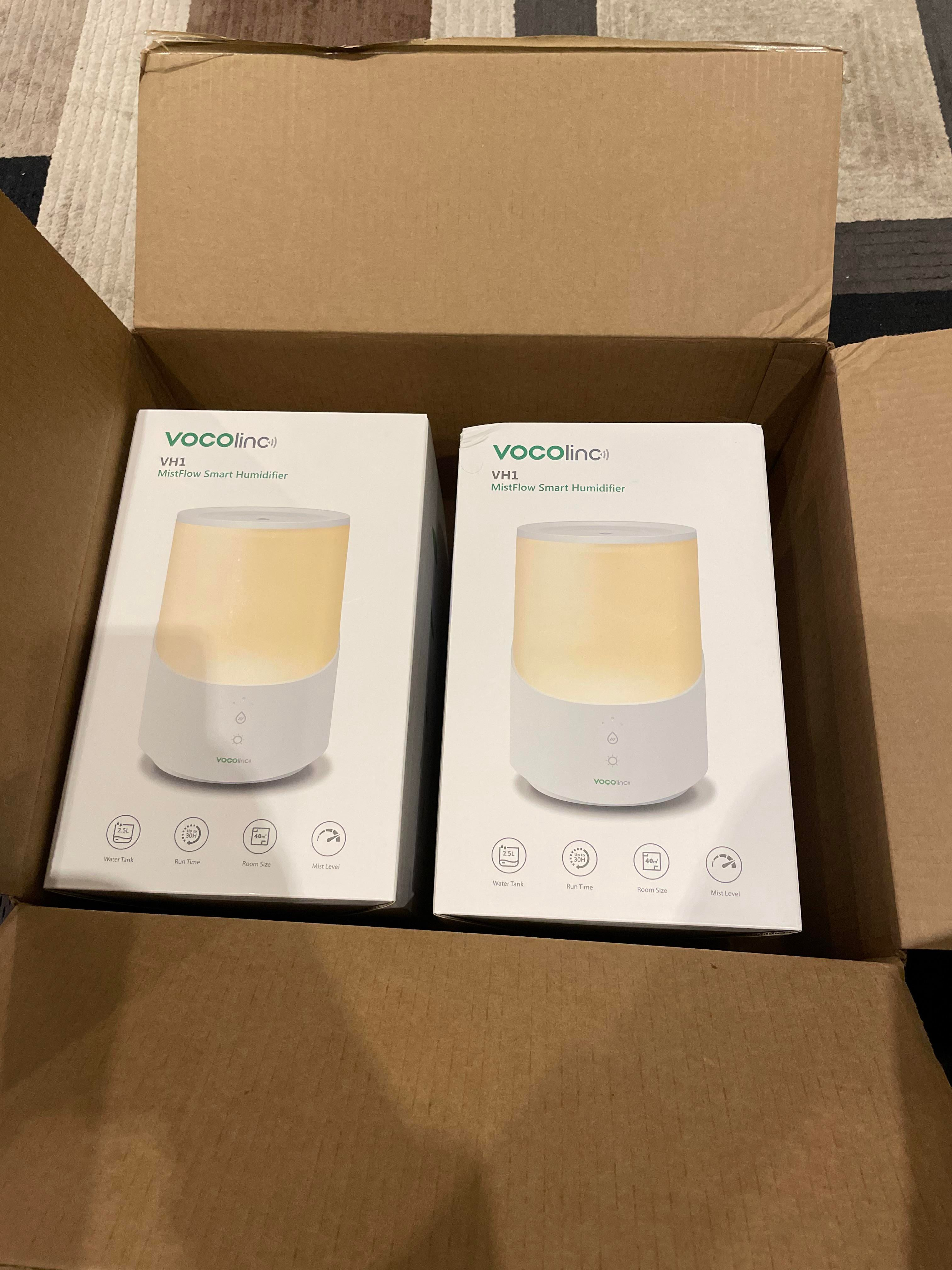 Vocolinc humidifiers have arrived