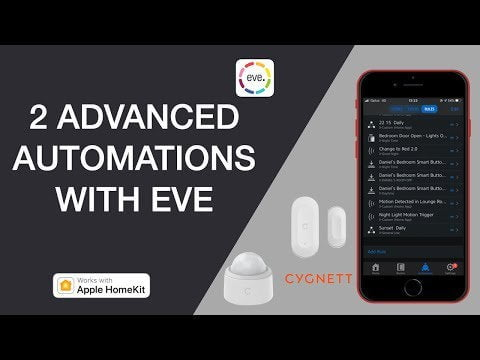 Watch until the last week of posting. Performing the same automations in the Eve application