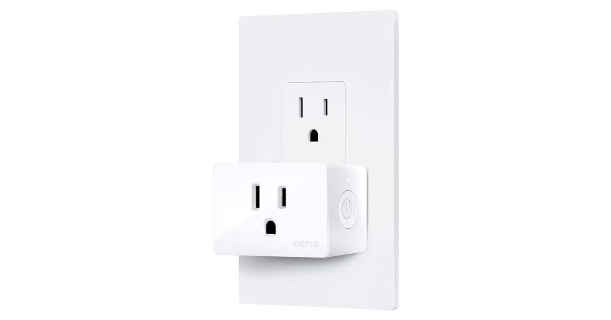 Wemo's latest Mini Smart Plug expands HomeKit configuration for just $ 20 (save 20%)