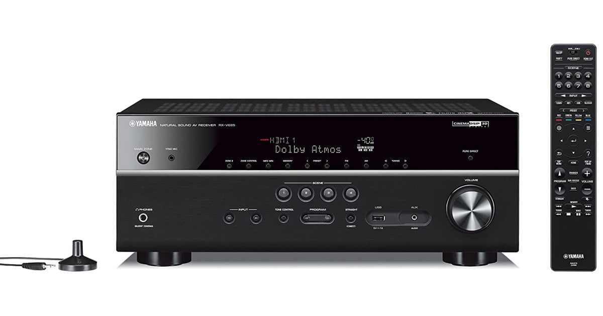 Yamaha's 7.2-Ch.  The 4K AV receiver has AirPlay 2 at one of the best prices I've seen, now $ 170 discount