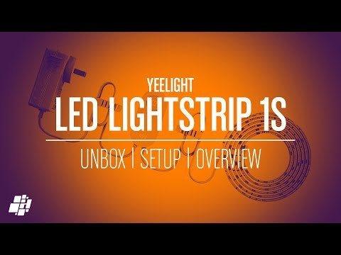 Yeelight LED Lightstrip 1S, with HomeKit and Razer Chroma compatibility