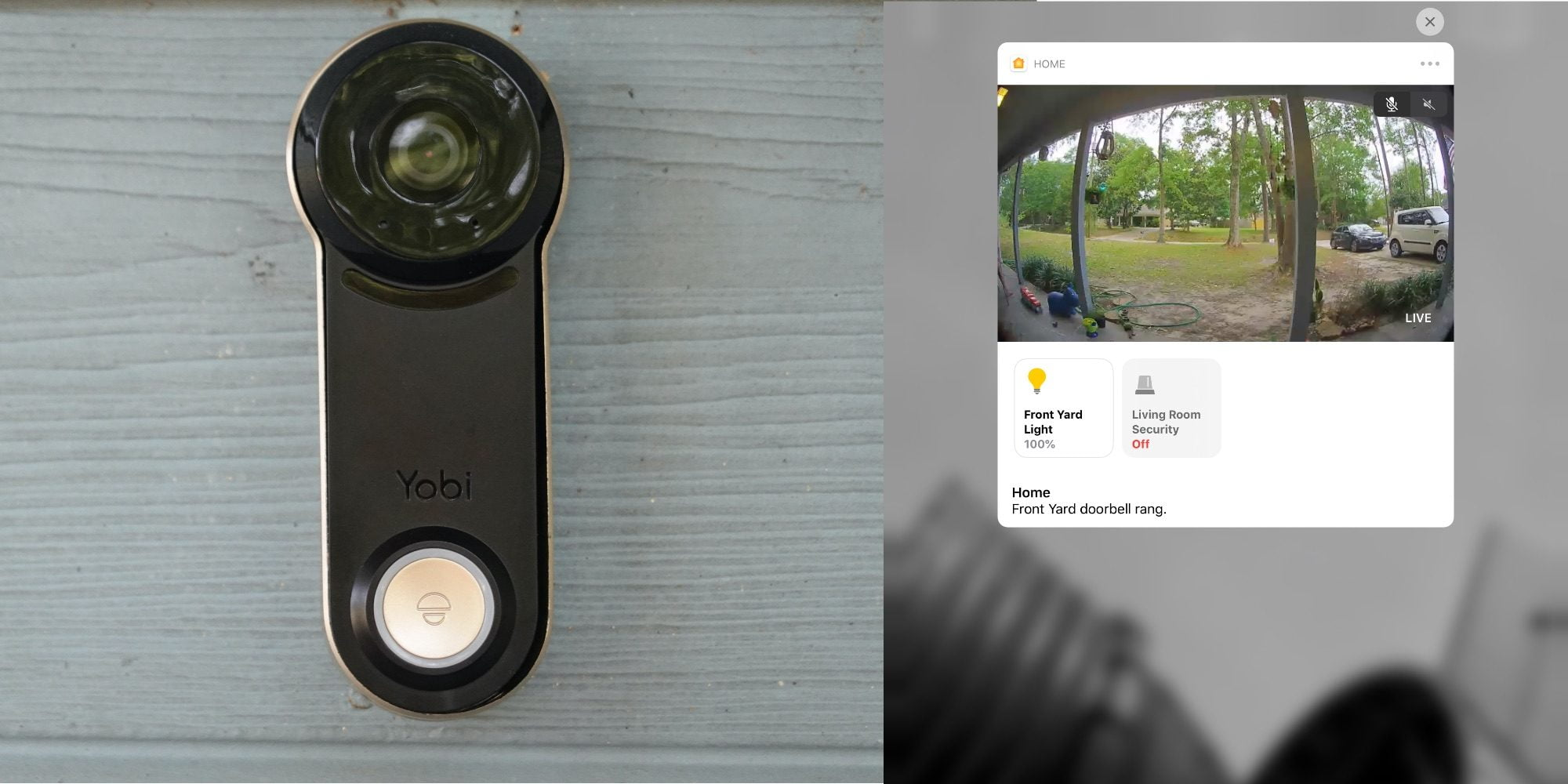 Yobi B3 beats the smart home industry to creating an affordable HomeKit doorbell