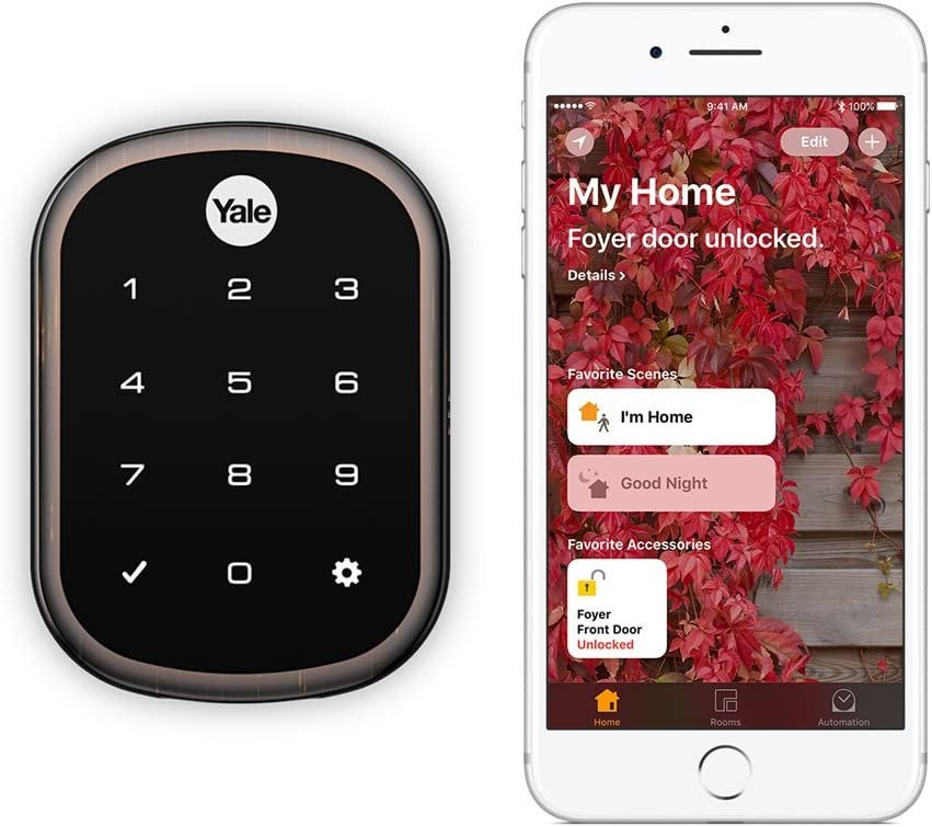 Your choice about Yale Assure Lock SL (works with HomeKit)?