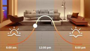 The Aqara smart lighting update adds support for HomeKit Adaptive Lighting