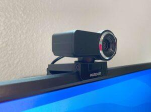 AUSDOM AW635 Webcam Review: Plug and play