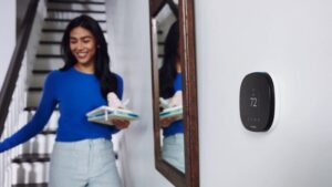 Withdraw $ 50 from the voice-controlled SmartThermostat ecobee on this first day