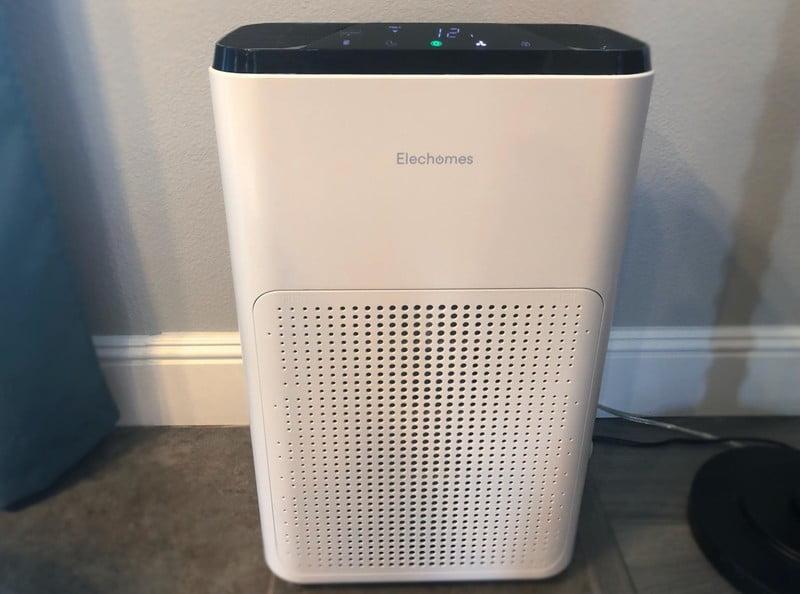Elecomene Smart Wi-Fi Purifier Air Review Review: Clean design, clean air