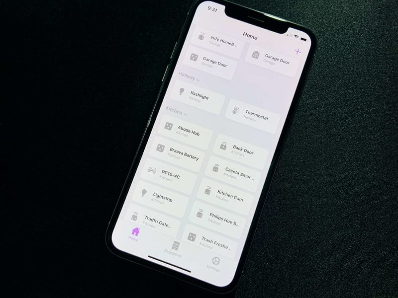 HomeKit HomePass accessory code storage application gets a new look, shortcuts and more