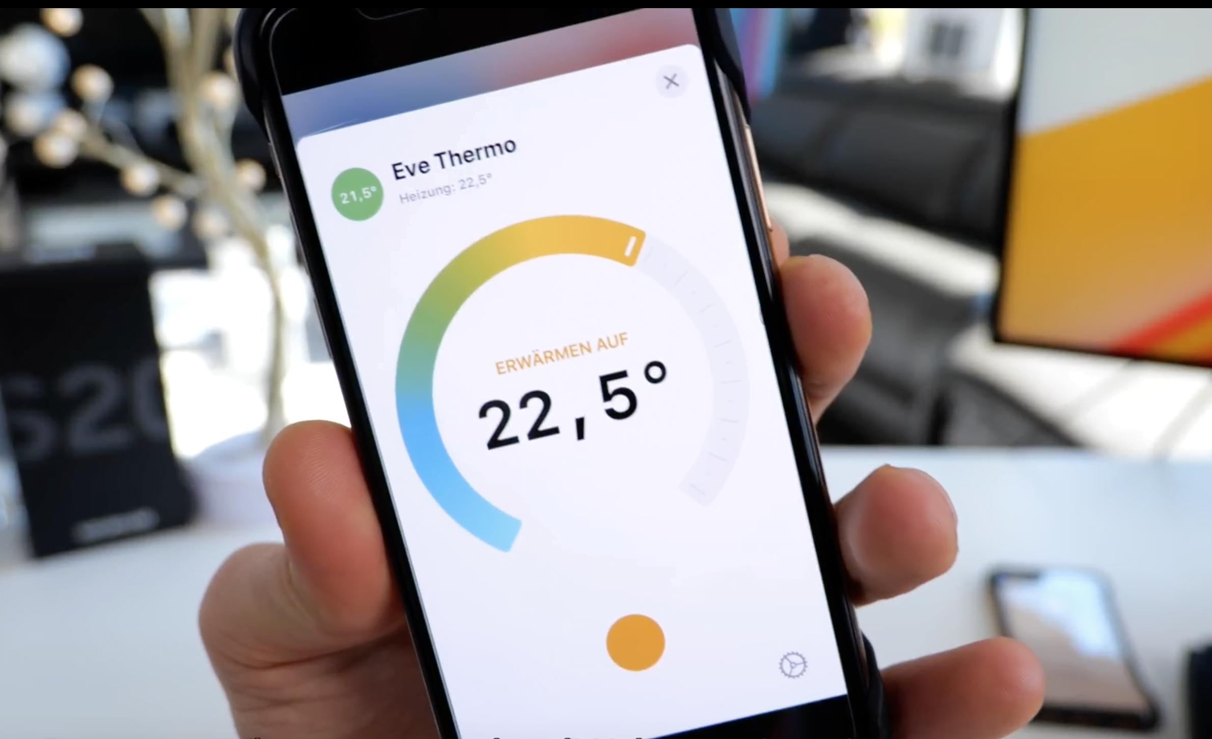 iOS 13.4 Beta 2 - New temperature adjustments