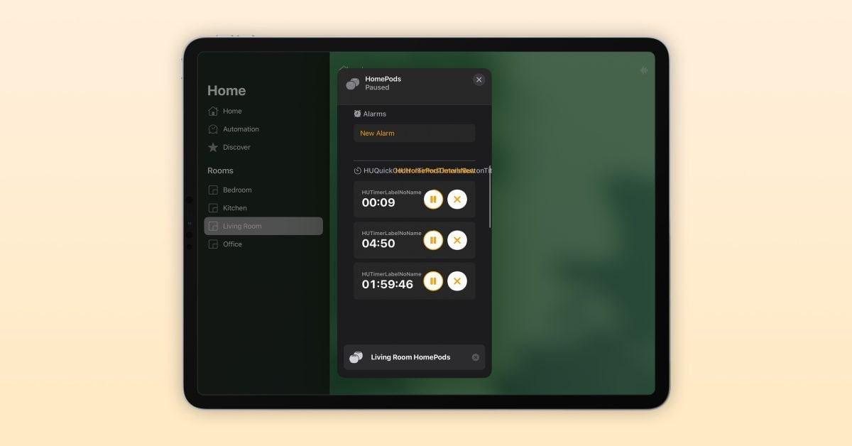 iOS 14.7 beta allows you to set timers on your HomePod using the Home app
