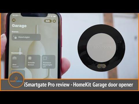 iSmartgate Pro Review - HomeKit garage door opener kit