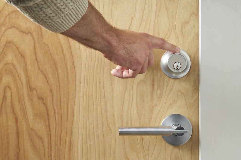 The latest smart lock level enabled at HomeKit includes touch controls and NFC