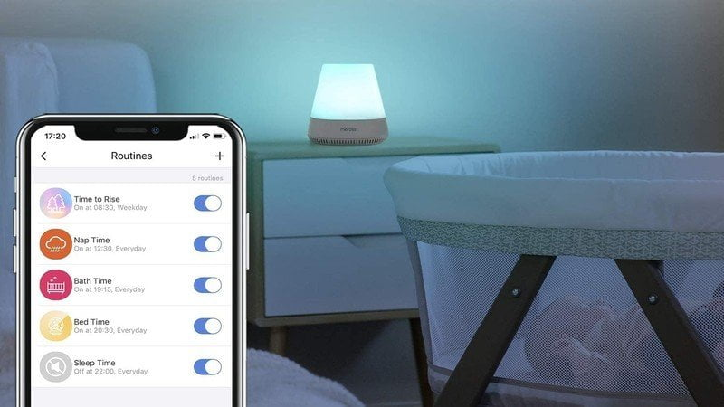 Meross launches a Smart HomeKit compatible night light for the nursery
