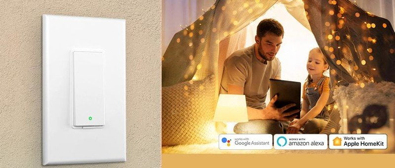 Meross Multi Way Homekit Light Switch