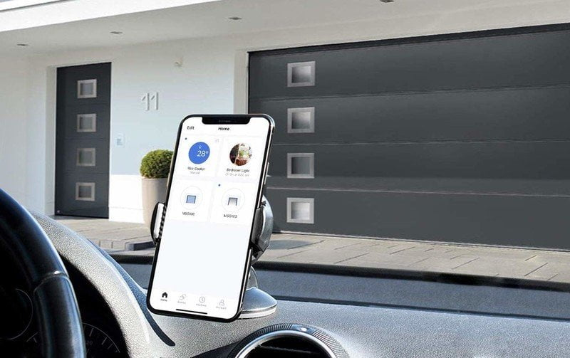 The HomeKit-enabled Smart Meross Wi-Fi Garage Door Opener is now available