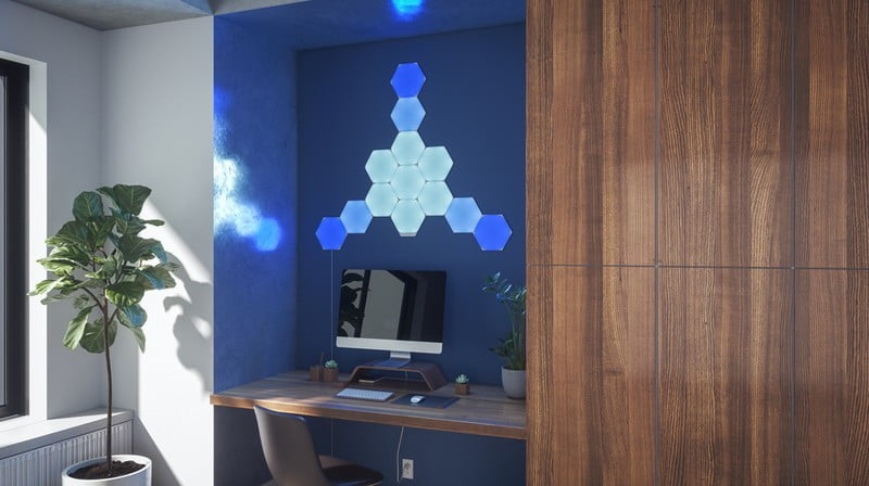 Nanoleaf Hexagons is now available for private pre-orders, delivering on June 30th