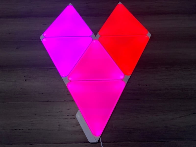 Nanoleaf Shapes Triangles Review: Colorful connectivity