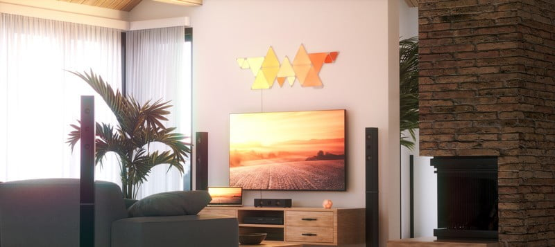 Nanoleaf's Shapes panels now come in two triangle sizes