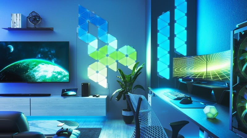 Nanoleaf celebrates the launch of Star Wars: Squadrons with a supreme spaceship design