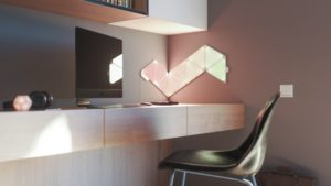 Nanoleaf offers a play from the playlist for home lighting and 15% of the panels