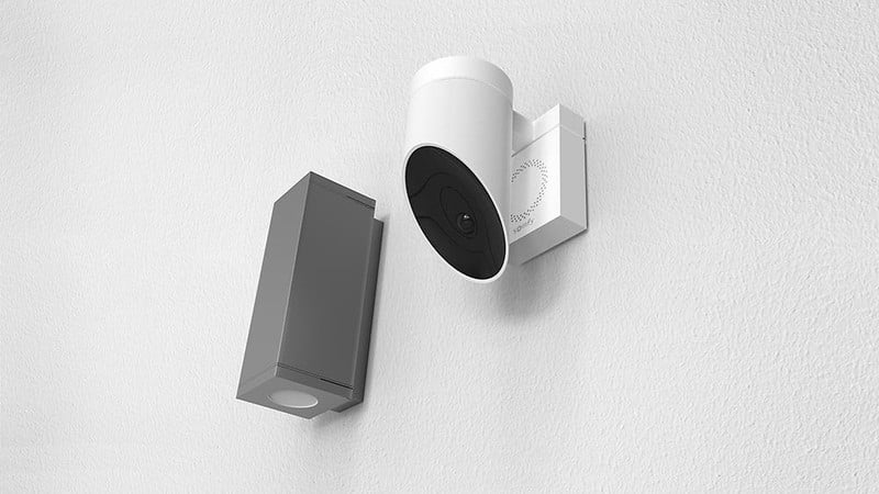 The Somfy Outdoor Security Camera update adds support for the Apple HomeKit